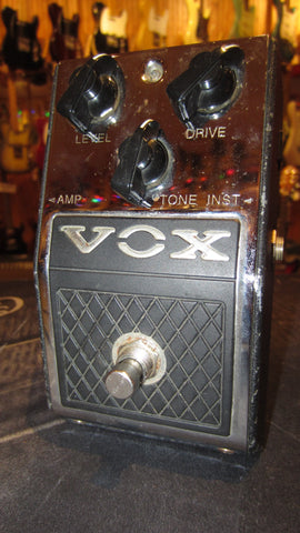 Preowned 2012 VOX Distortion Booster V830 Black