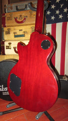 2014 Gibson Les Paul Traditional Pro II Original Cherry Red Flamed Maple Top