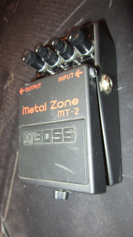 Pre Owned 2015 Boss MT-2 Metal Zone Black