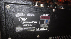 2015 Fender Pro Junior III Black