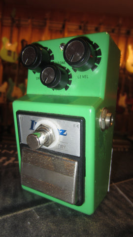 2015 Ibanez Keeley Modded TS-9 Tube Screamer Green