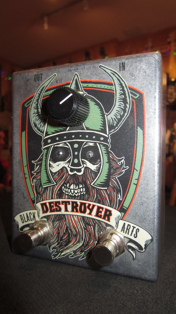 2016 Black Arts Toneworks Destroyer Fuzz Grey