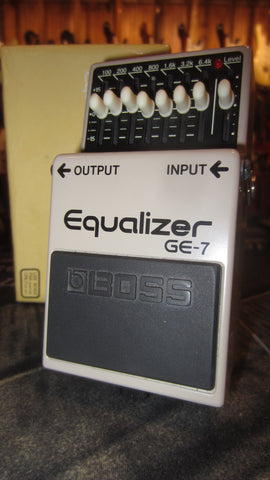 2017 BOSS GE-7 Equalizer Pedal Grey