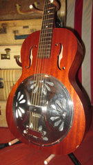 Pre-Owned 2017 Gretsch G9200 Resonator Guitar Natural Mahogany