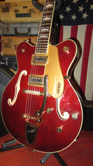 Original Pre-Owned Circa 2017 Gretsch Model G5422TG Original Burgundy Finish