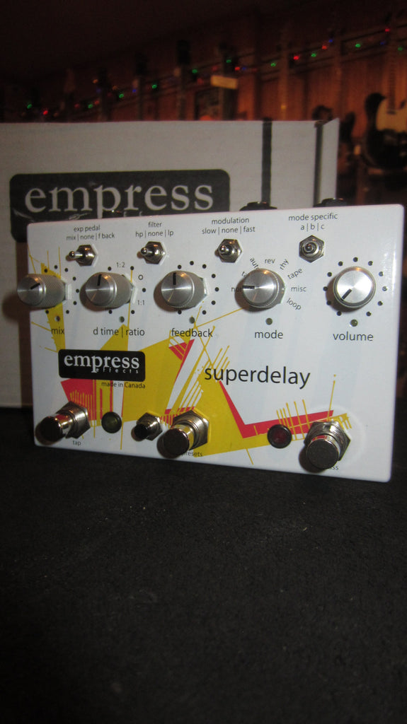 Pre-Owned Empress Effects Super Delay Pedal
