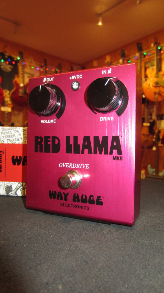 Pre-Owned circa 2018 Way Huge Electronics Red LLama Overdrive Red w/ Original Box