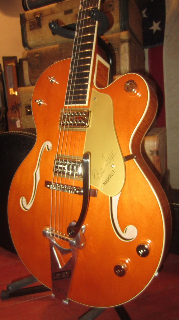 2019 Gretsch Nashville G6120 BSSMK Brian Setzer Artist Signature Edition Smoke Orange