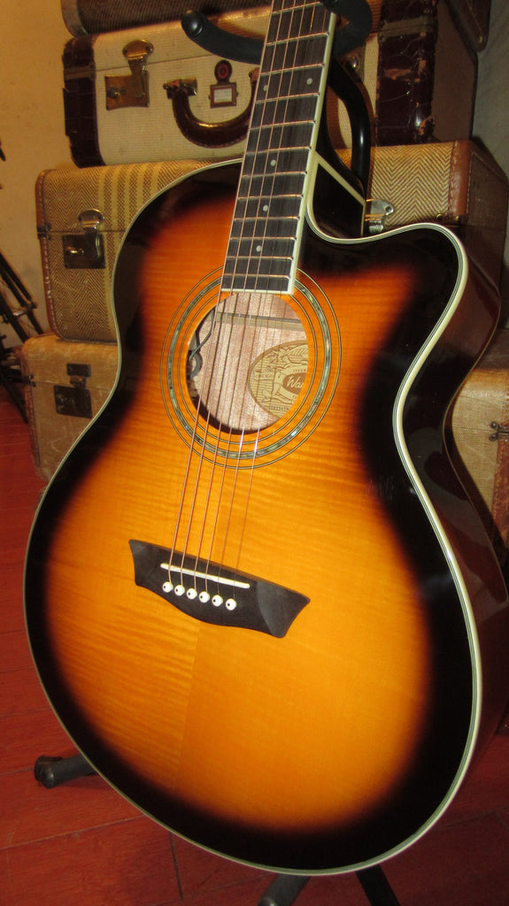 Washburn Festival Series EA15ATB Acoustic/Electric Cutaway