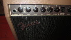 "2020 Fender Acoustasonic 90 90 Watt 1 x 8"" with Horn Brown"