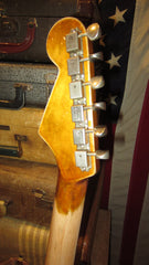 2020 Greg Adams Relic'd Guitars '61 Stratocaster Copy Sunburst