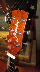 2020 Jasmine OM AE Acoustic Electric Cutaway  Sunburst