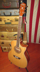 Washburn Harvest Series G7SCE grand Auditorium Cutaway Acoustic Electric Guitar