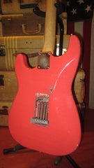 Greg Adams Reclic Guitars '62 Strat Relic Fiesta Red w/ Gig Bag