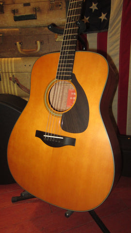 2021 Yamaha FG5 Red Label Dreadnought Acoustic Flattop Natural