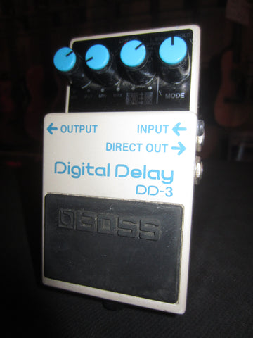 Circa 2000's Boss DD-3 Digital Delay