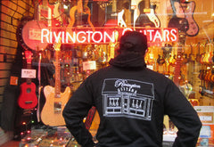 Rivington Guitars Limited Edition American Apparel Hoodie Sweatshirt
