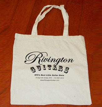 Rivington Guitars Tote Bag