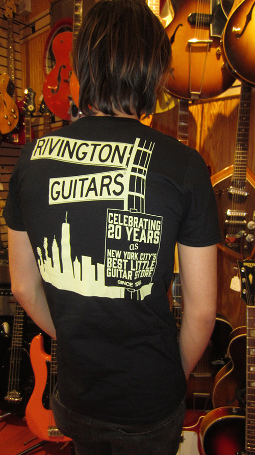 Rivington Guitars Limited Edition NYC T-Shirt (Black)