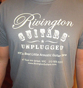 Rivington Guitars Unplugged T-Shirt