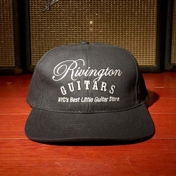 Rivington Guitars Hat (Black)