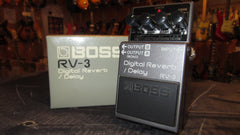 Original Circa 1999 Boss RV-3 Reverb / Delay