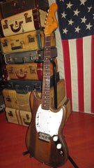 Vintage 1965 Fender Duo-Sonic II Natural Refinish w/ Gig Bag
