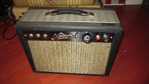 Vintage 1960's National Model 1219 Combo Amp