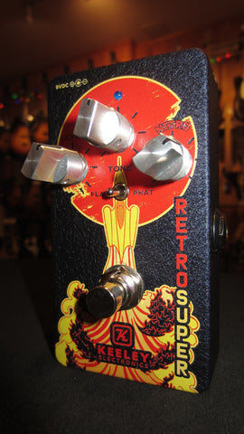 Keeley Retro Super Germanium Phat Mod Atomic Graphic