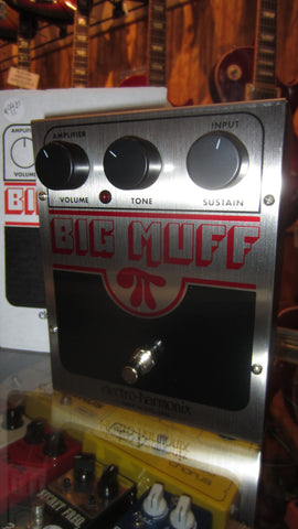 2019 Electro-Harmonix Big Muff Pi Made in USA red black and silver