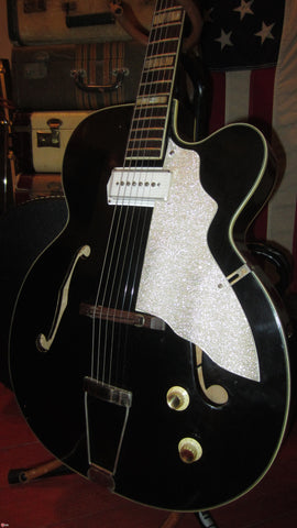Circa 1959 Kay Upbeat Electric Archtop w/ Kelvinator Headstock