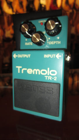 2019 Boss TR-2 Tremolo Pedal Green