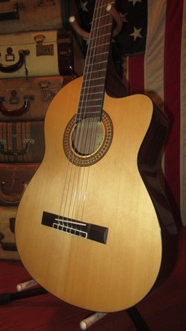 Jasmine JC25E Acoustic Electric Nylon String