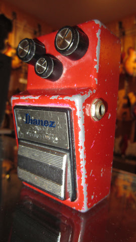 1983 Ibanez AD-9 Analog Delay Red