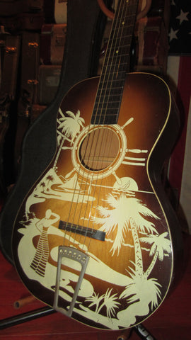 1939 Supertone Winner Parlor Guitar
