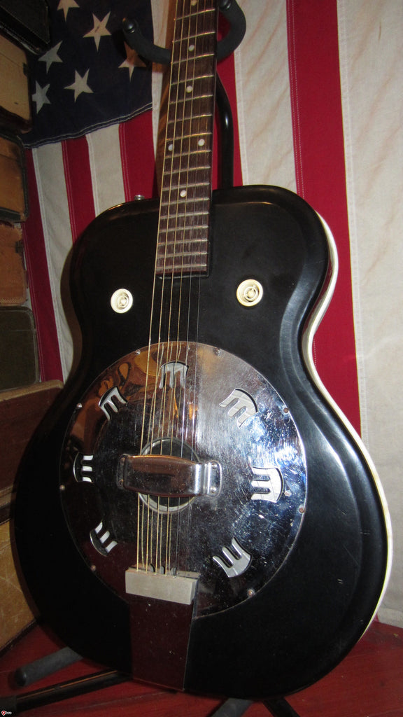 1963 Airline Acoustic Res-O-Glass Resonator Guitar
