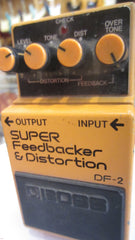 Circa 1983 BOSS DF-2 Distortion/Feedbacker