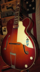 1959 Silvertone Aristocrat Archtop Electric Guitar w/ Soft Case