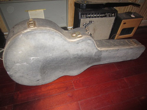 "Circa 1959 Gretsch® Synchromatic or Similar 17"" Guitar Hard Case"