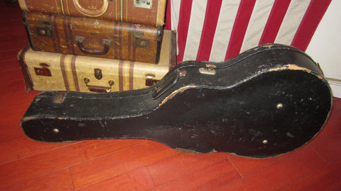 "1956 Gibson 17"" Archtop Guitar Case Black"
