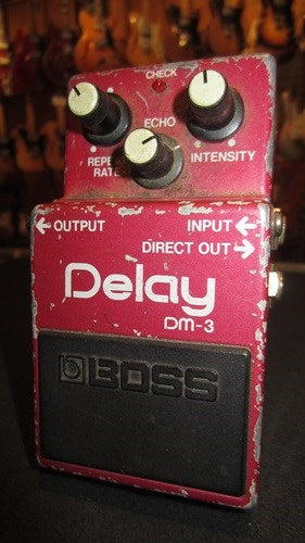 Vintage Circa 1989 Boss DM-3 Analog Delay