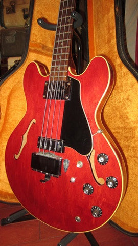 1966 Gibson EB-2D Hollowbody Bass