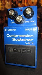 Vintage Circa 1982 Boss CS-2 Compressor Sustainer