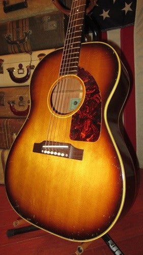 Vintage 1964 Epiphone FT-45 Cortez Small Body Acoustic Guitar w/ Hard Case