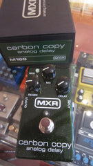 2017 MXR M169 Carbon Copy Analog Delay Black