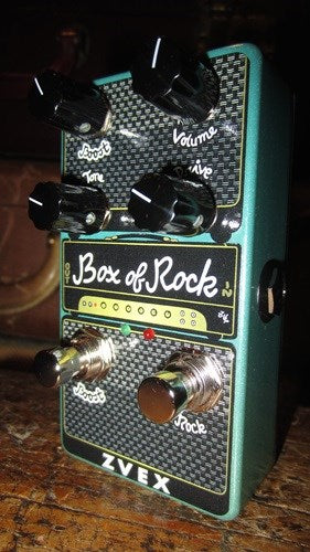 ZVex Box of Rock Overdrive Dirstortion Pedal Vexter Vertical Series