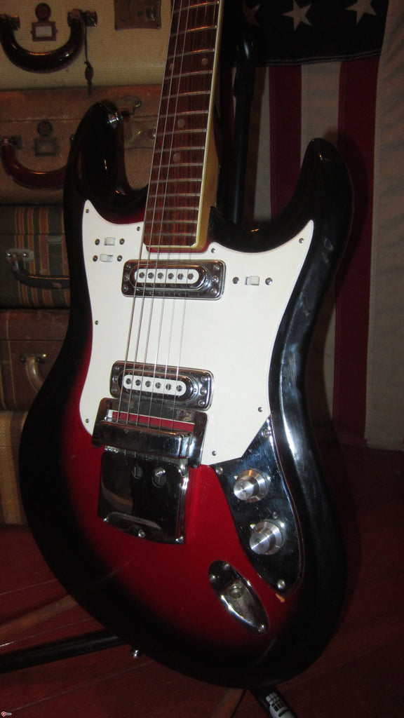 Circa 1969 Teisco Mayfair Solidbody Jazzmaster™ Copy Double Pickup