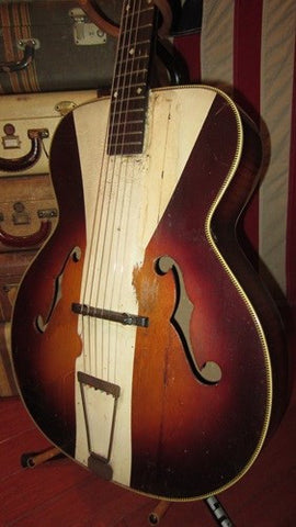 Rare SS Stewart Archtop Acoustic