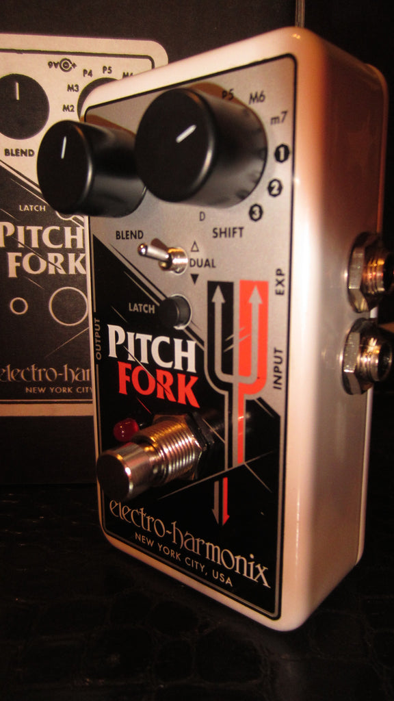 2017 Electro-Harmonix Pitch Fork Chrome
