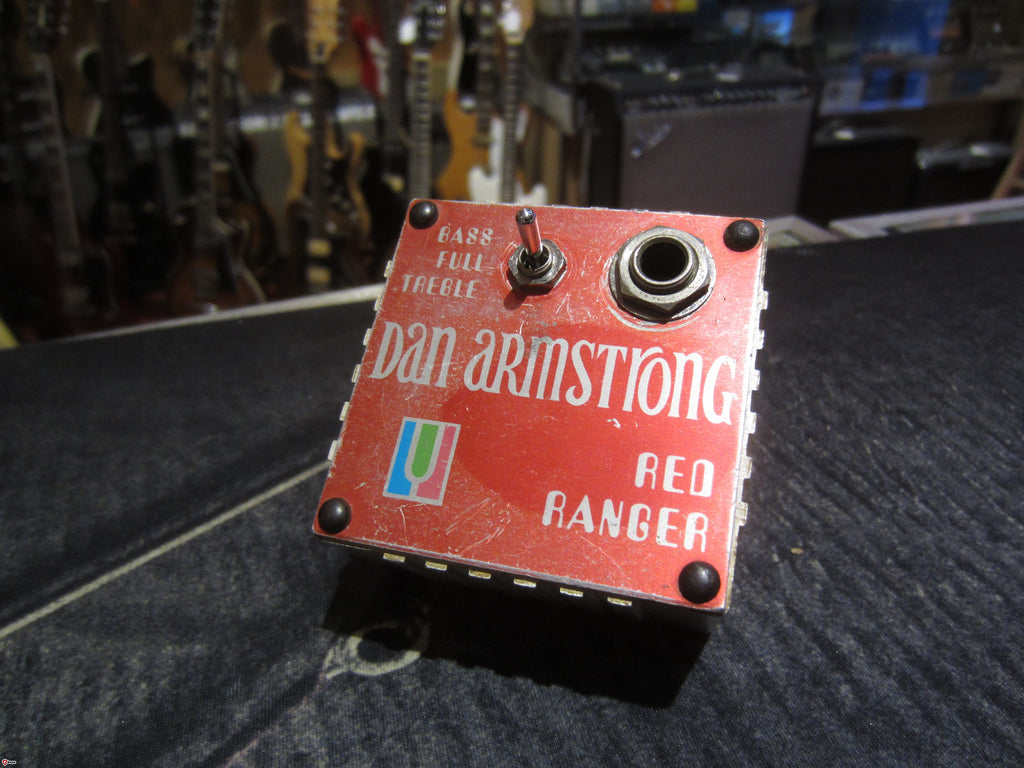 Circa 1973 Dan Armstrong Red Ranger Boost/EQ